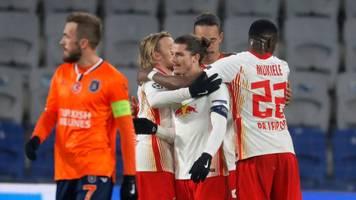 Champions League - Zittern bis zum Ende: RB Leipzig gewinnt knapp in Istanbul