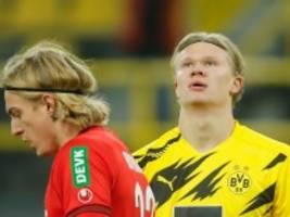 Stürmer des BVB: Für Haaland ist das Fußballjahr vorbei