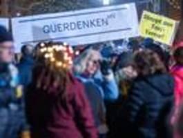 """querdenken""-bewegung fall für verfassungsschutz?"