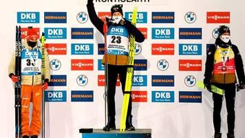 Weltcup in Kontiolahti: Biathlet Peiffer sprintet auf Platz zwei - Herrmann Fünfte
