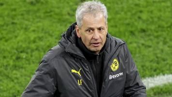 Champions League: BVB-Trainer Lucien Favre wütend über Elfmeter-Pfiff