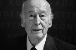 Französischer Ex-Präsident Giscard d'Estaing gestorben