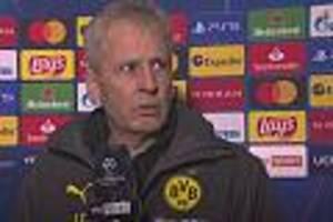 nach 1:1 gegen lazio rom - vollkommen genervter bvb-coach favre bricht sky-interview ab und geht
