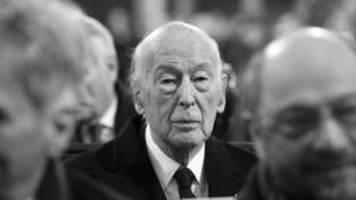 französischer ex-präsident: der unsterbliche giscard d'estaing