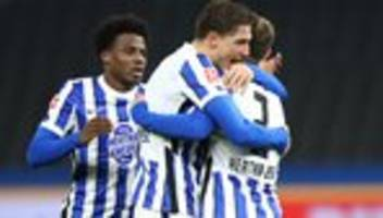 Bundesliga, 10. Spieltag: Hertha gewinnt Derby gegen Union Berlin