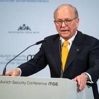 Die Stunde Null: Sicherheitskonferenz-Chef Ischinger: Donald Trump wird ein unglaublich effizienter Störfaktor bleiben