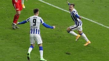 Bundesliga: Derbysieg! Hertha BSC gewinnt Berlin-Gipfel – bittere Pleite für Union