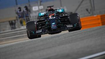 Formel 1 in Bahrain: Bestzeit! Hamilton-Ersatz George Russell überragt im Training