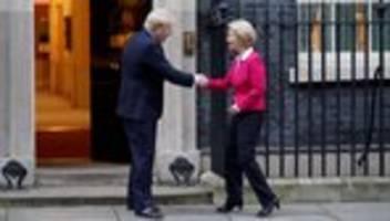 Brexit: Von der Leyen und Johnson wollen direkt miteinander verhandeln