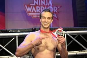 "TV-Show: Alex Wurm gewinnt zum dritten Mal ""Ninja Warrior Germany"""