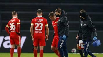 Bundesliga - Empfang nach dem Derby: Fans munterten Union-Profis auf
