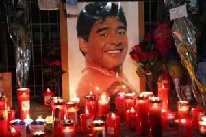 auf wiedersehen im himmel: diego maradona und andere tote des sports 2020
