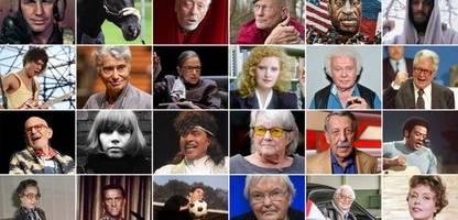 gestorben 2020: 100 prominente tote des jahres im nekrolog