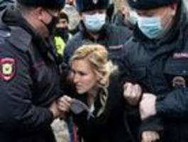 Polizei verschärft Maßnahmen um Nawalny-Gefängnis
