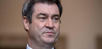 CDU: Mehrere Bundestagsabgeordnete wollen Markus Söder als Kanzlerkandidat