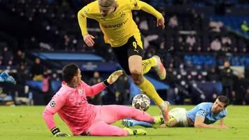 champions league - bvb verpasst coup in manchester: 1:2 nach achtbarem kampf