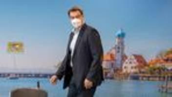 Corona-Maßnahmen: Markus Söder begrüßt Armin Laschets Lockdown-Pläne