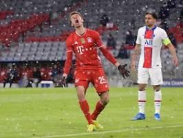Patzer, Verletzte und Pleite: FC Bayern verliert wildes CL-Hinspiel gegen Paris