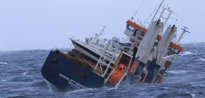Norwegen: Bergung der »Eemslift Hendrika« wegen schlechten Wetters verschoben