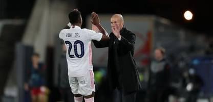 zinédine zidane: real madrids trainer coacht nicht mehr, als er muss