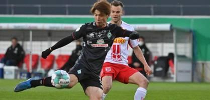 Osako schießt Werder Bremen ins Halbfinale