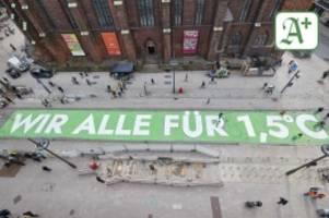 Fridays for Future: Trotz Promi-Hilfe: Keine Verlängerung für Klima-Schriftzug