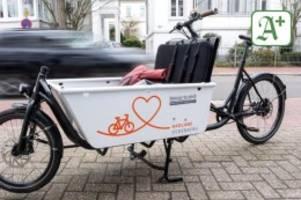 Verkehr: Lastenfahrräder boomen in Niedersachsen