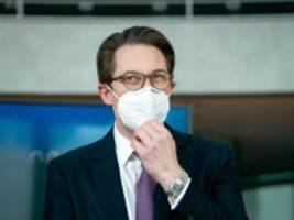 corona-pandemie: feiern und lüften im verkehrsministerium