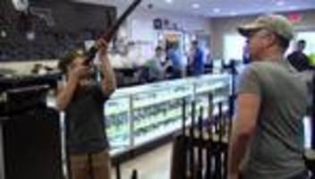 USA: Joe Biden will Waffenrecht per Erlass verschärfen