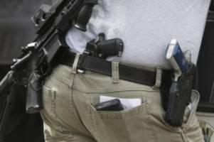 schusswaffengesetz in den usa: tennessee erlaubt tragen von pistolen ohne genehmigung