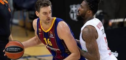 basketball-euroleague: auch nba-legende pau gasol kann bayern münchen nicht stoppen