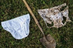 Schweizer vergraben 2000 Unterhosen