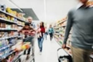 Analyse von Mobilfunkdaten - Corona-Gefahr im Supermarkt? Fast jeder dritte Kontakt findet beim Einkaufen statt
