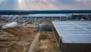 tesla-fabrik: nach dem wasser für tesla muss noch gebohrt werden