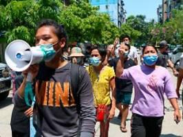 Erneutes Blutbad mit 80 Toten: 19 Menschen in Myanmar zum Tode verurteilt
