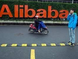 China nimmt Konzern an die Zügel: Behörden brummen Alibaba Rekordstrafe auf