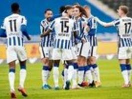 Hertha BSC hat Überzahl, aber kein Übergewicht