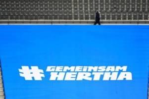 Fußball: Hertha und Gladbach mit jeweils zwei Änderungen
