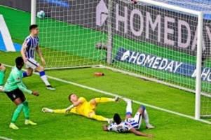 Hertha BSC: Hertha BSC verpasst Sieg gegen zehn Gladbacher