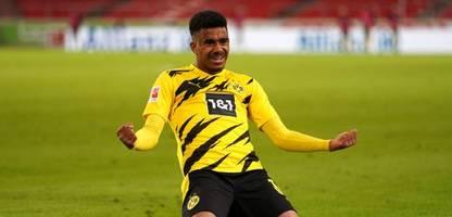 Bundesliga: Newcomer Ansgar Knauff rettet Borussia Dortmunder Sieg in Stuttgart