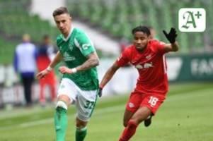 Fußball: 1:4 gegen Leipzig: Werder wieder in Abstiegsgefahr