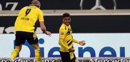 Senkrechtstarter Knauff schießt BVB zum Sieg gegen Stuttgart