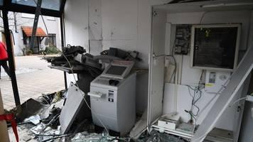 Zahl der Sprengungen von Geldautomaten nimmt zu