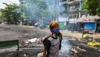 myanmar: mehr als 700 tote seit dem militärputsch