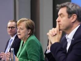 Deutlicher abgewichen als NRW: Merkel zählt Bayern wegen Notbremse an