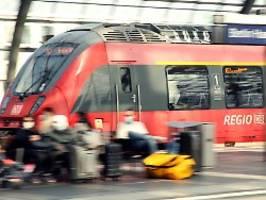 In drastischen Fällen: Bahn erteilt Maskengegnern erste Zugverbote