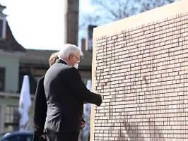 steinmeier erinnert an opfer: buchenwald steht für barbarei der nazis