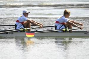 titelkämpfe auf lago di varese: silber für leichten doppelzweier bei ruder-em