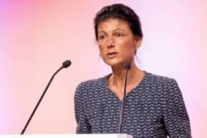 linke: trotz kritik: wagenknecht wird spitzenkandidatin in nrw