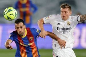 Fußball-Ticker: Toni Kroos schießt Real Madrid zum Clásico-Sieg gegen Barça